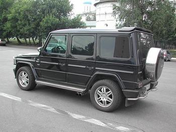 Аренда автомобиля Mercedes-Benz G-class с водителем 1