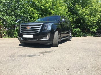 Аренда автомобиля Cadillac Escalade 4 с водителем 1