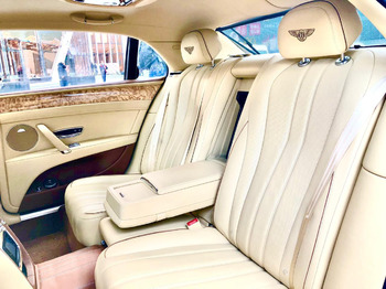 Аренда автомобиля Bentley Flying Spur с водителем 2