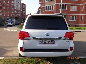 Аренда автомобиля Toyota Land Cruiser  с водителем 2