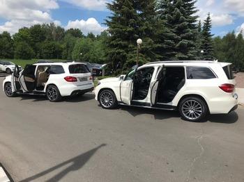 Аренда автомобиля Мерседес GLS с водителем 3