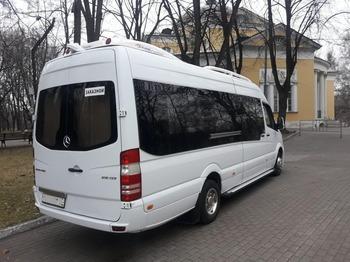 Аренда автомобиля Мерседес Спринтер LUX с водителем 3