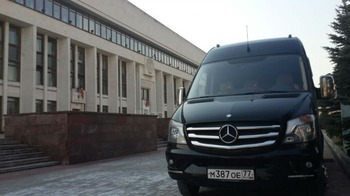 Аренда автомобиля Mercedes Sprinter  Вип с водителем