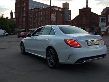 Аренда автомобиля Mercedes-Benz C-klasse IV (W205)  с водителем 1