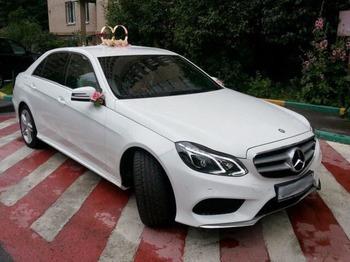 Аренда автомобиля Mercedes E212  с водителем 5