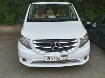 Аренда автомобиля Mercedes Vito  с водителем 1