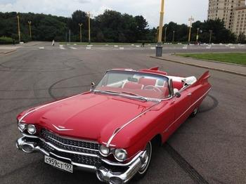 Аренда автомобиля Cadillac Eldorado-59 с водителем 5
