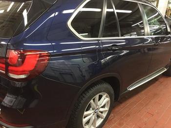 Аренда автомобиля BMW X5 с водителем 1