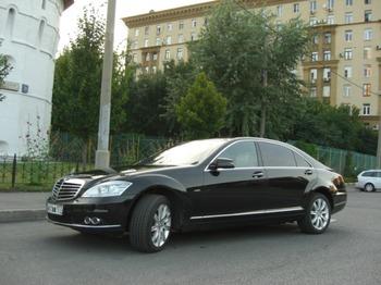 Аренда автомобиля Mercedes-Benz S-class (W221) [320] с водителем