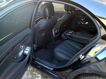 Аренда автомобиля Mercedes S-222  с водителем 0