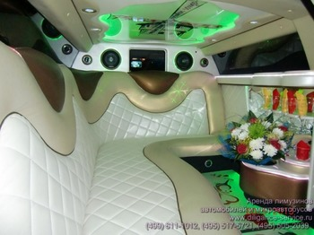 Аренда автомобиля Chrysler 300C  с водителем 6
