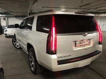 Аренда автомобиля Cadillac Escalade 4 с водителем 2