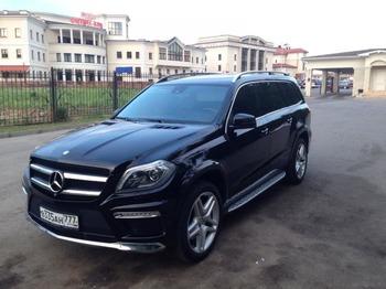 Аренда автомобиля Mercedes GL  с водителем