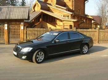 Аренда автомобиля Mercedes  S-class (W221)  с водителем 9