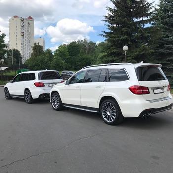 Аренда автомобиля Мерседес GLS с водителем 1