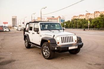 Аренда автомобиля Jeep Wrangler с водителем 12