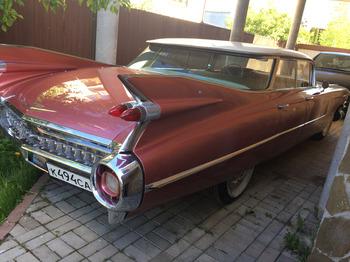 Аренда автомобиля Cadillac  Эльдорадо-59 с водителем 8