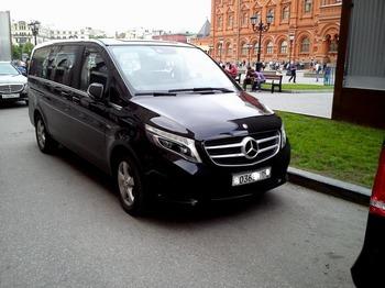 Аренда автомобиля Mercedes V-класс  с водителем 5