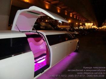 Аренда автомобиля Chrysler 300C  с водителем 7