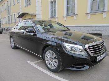 Аренда автомобиля Mercedes S 222 long  с водителем 0