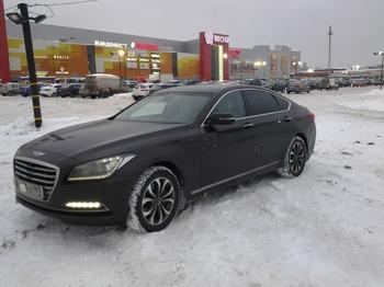 Аренда автомобиля Hyundai Genesis с водителем 0