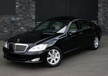 Аренда автомобиля Mercedes  S-class (W221)  с водителем