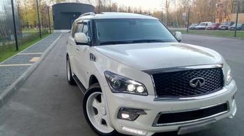 Аренда автомобиля Infinity QX80  с водителем 0