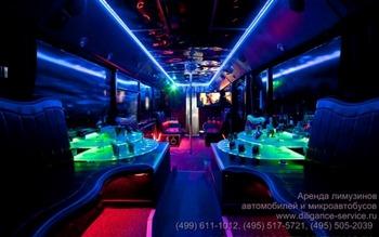Аренда автомобиля Night Party Bus  с водителем 9