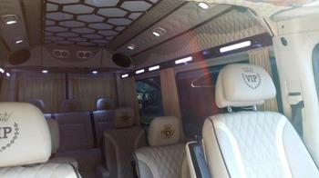 Аренда автомобиля Mercedes Sprinter ВИП  с водителем 1