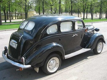 Аренда автомобиля De Soto 1939г.  с водителем 2