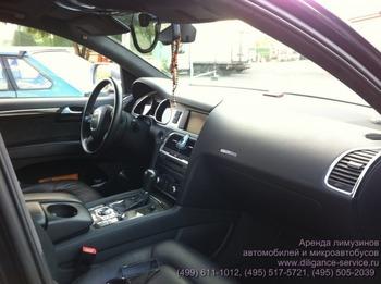 Аренда автомобиля Audi Q7  с водителем 2
