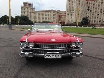Аренда автомобиля Cadillac Eldorado-59 с водителем 6