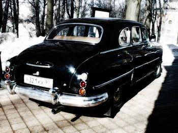 Аренда автомобиля ЗИМ  с водителем 9