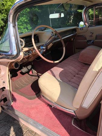 Аренда автомобиля Cadillac  Эльдорадо-59 с водителем 6