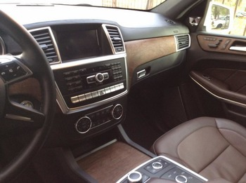 Аренда автомобиля Mercedes GL 500  с водителем 7