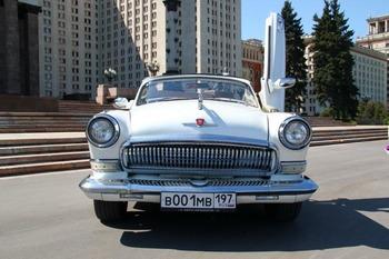 Аренда автомобиля ГАЗ-21 кабриолет  с водителем 3