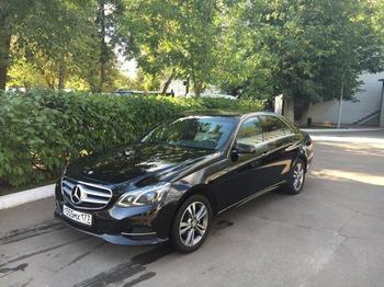 Аренда автомобиля Mercedes E212  с водителем