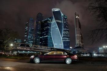 Аренда автомобиля Maybach S222 (черно-рубиновый) с водителем 0
