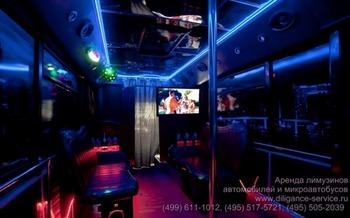 Аренда автомобиля Night Party Bus  с водителем 7