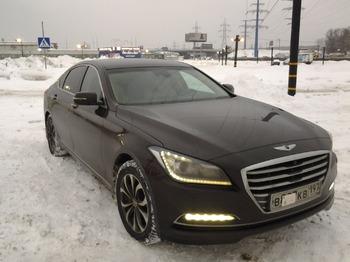 Аренда автомобиля Hyundai Genesis с водителем