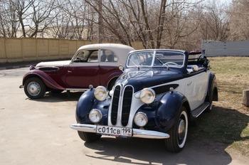 Аренда автомобиля BMW 326 Кабриолет с водителем