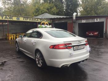 Аренда автомобиля Jaguar XF рестайлинг с водителем 1