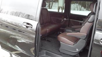 Аренда автомобиля Mercedes V-class  с водителем 3