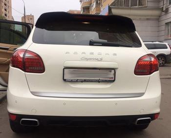 Аренда автомобиля Porshe Cayenne S с водителем 3