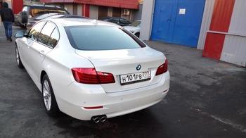 Аренда автомобиля BMW-5  с водителем 5