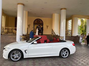 Аренда автомобиля Кабриолет BMW 320 с водителем