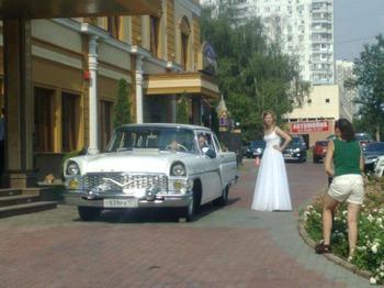 Аренда автомобиля Чайка ГАЗ  13   с водителем 8