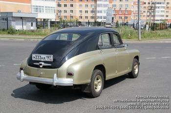 Аренда автомобиля ГАЗ М-20 Победа  с водителем 2