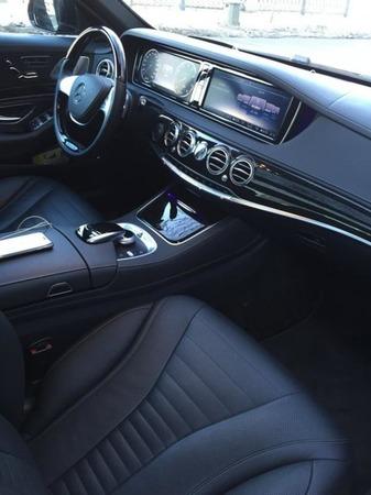 Аренда автомобиля Мерседес V-класс с водителем 5