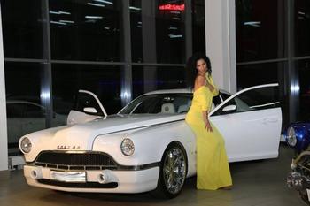 Аренда автомобиля Победа (Репликар) белая с водителем 0